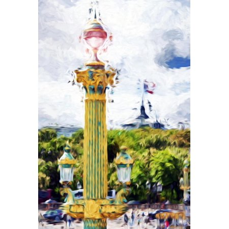 Paris Architecture II - In the Style of Oil Painting Print Wall Art By Philippe