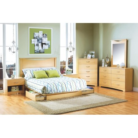 Copley Full Queen Platform Bed 7 Piece Bedroom Set
