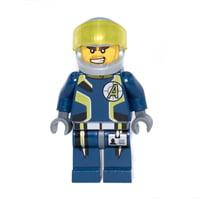 LEGO Agents Agent Charge - Helmet Minifigure