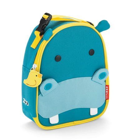 - Skip Hop Zoo Lunchie Insulated Lunch Bag, Hippo
