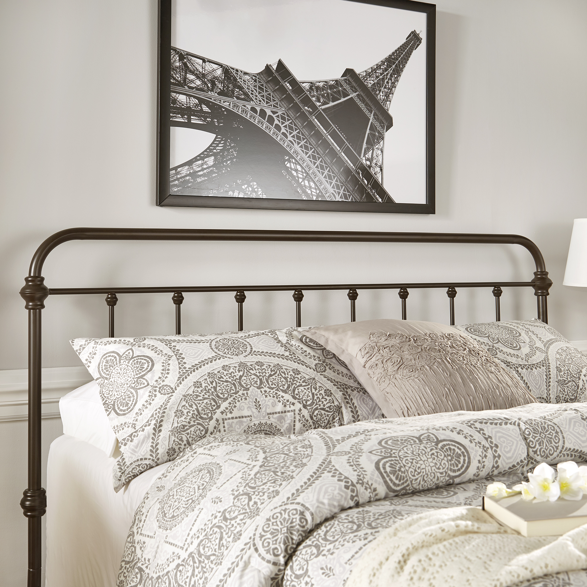 Weston Home Nottingham Spindle Headboard, Multiple Sizes and Colors