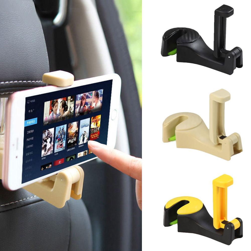 Moderna 2 in 1 Car Backseat Headrest Phone Holder Folding Hanger Mount for Cellphone