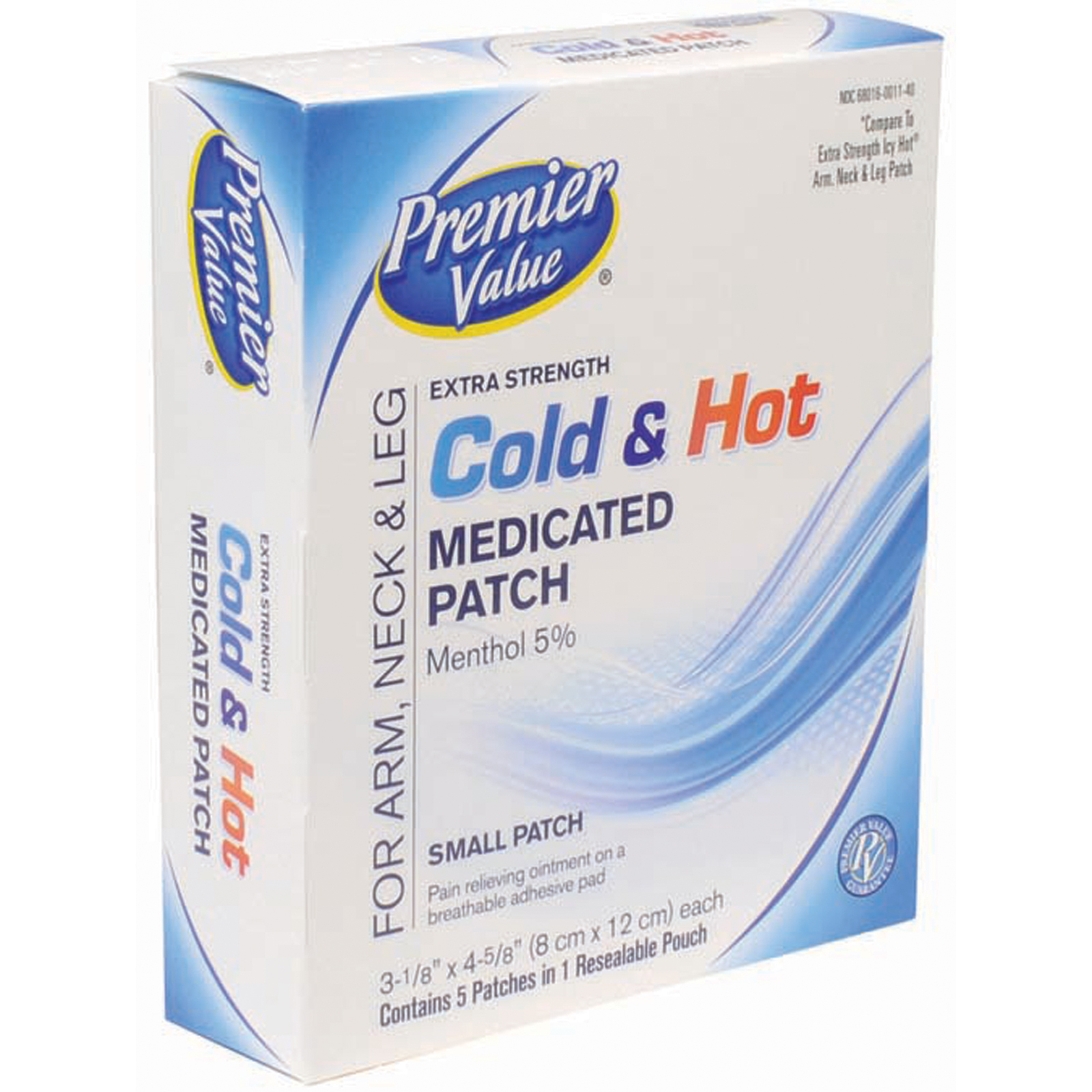 Premier Value Cold & Hot Patches - 5 ct