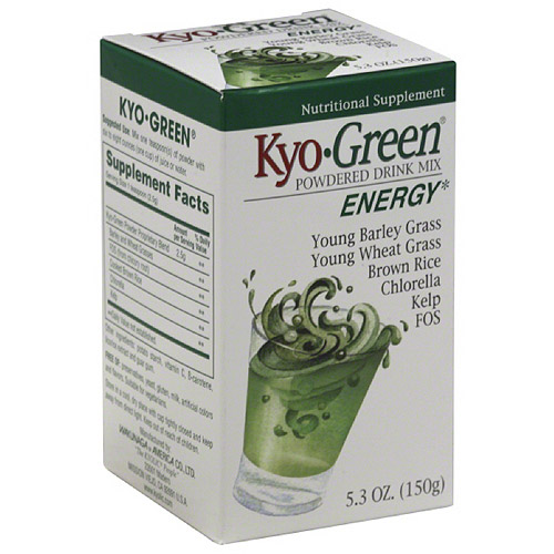 Kyo-Green Energy Nutritional Supplement Powdered Drink Mix, 5.3 oz