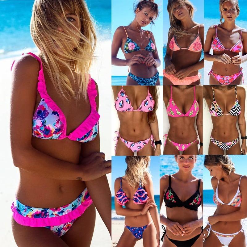 Super Push Up Bikini Neon