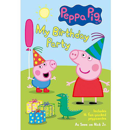 PEPPA PIG-MY BIRTHDAY PARTY (DVD)