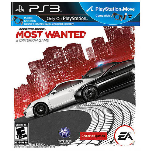 Need for Speed: Most Wanted - A Criterion Game (PS3) - Pre-Owned