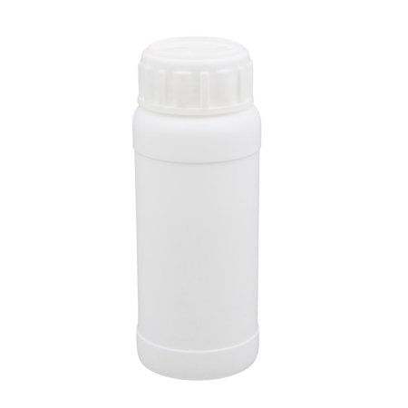 Unique Bargains 100ml Plastic White Round Solid Powder Bottle Storage Container Jar