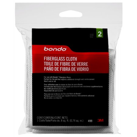 Bondo Fiberglass Cloth, 00499, 8 sq. ft. Fiberglass Body Filler