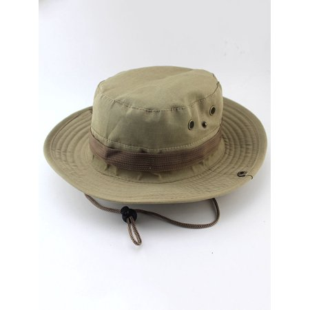 8e97a5765d Sun Protection Tactical Boonie Hat Quick Drying Fishing Hats for Men  Women