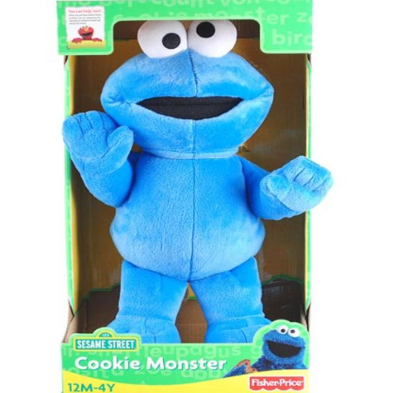 "15"" Sesame Street Cookie Monster Doll Plush by"