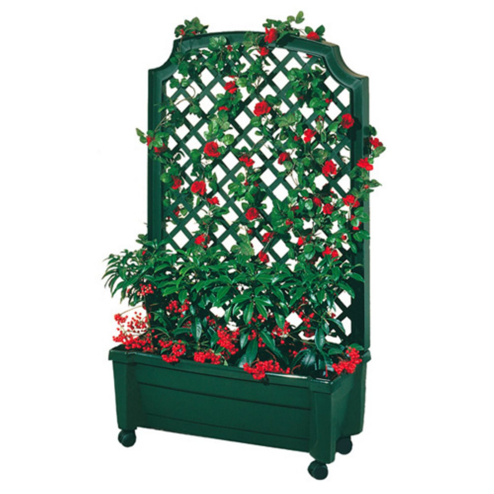 Exaco Calypso Planter with Trellis