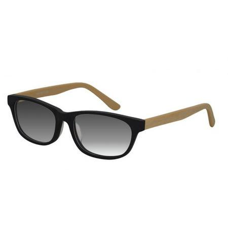 Ebe Sunglasses Readers Cheaters Mens Womens Wayfarer Wooden Temples Acetate Frames Anti Glare RX c1226-sun - Cheap Wayfarer Glasses