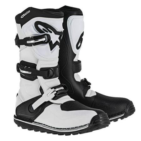 Alpinestars Tech-T Boots White/Black (White, 8) Alpinestars Touring Boot