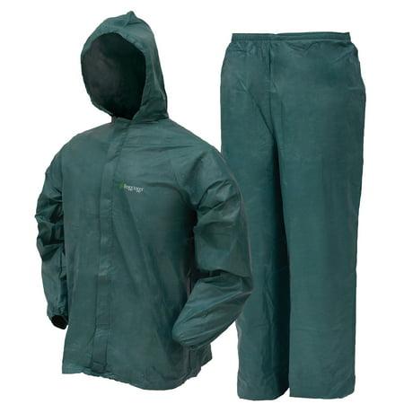 Ultra-Lite2 Rain Suit | Green | Size (Medium Rainsuit)
