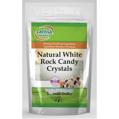 Natural White Rock Candy Crystals (4 oz, ZIN: 525897)](Crystal Rock Candy)