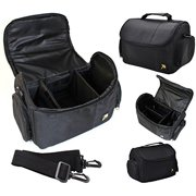 Large Deluxe Camera Carrying Bag For Olympus OM-D E-M10 E-M5 Mark II E-M1 SP-100