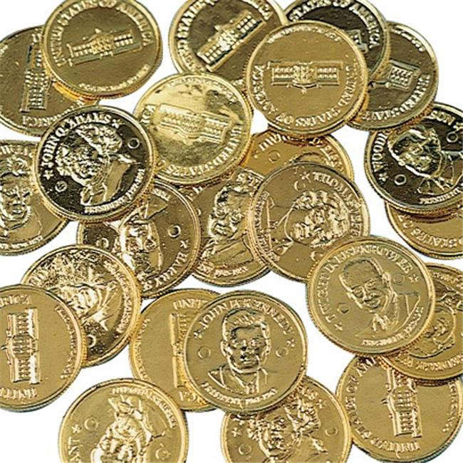 US Toy Company 136X10 10 in. Presidential Gold Coins Sold...