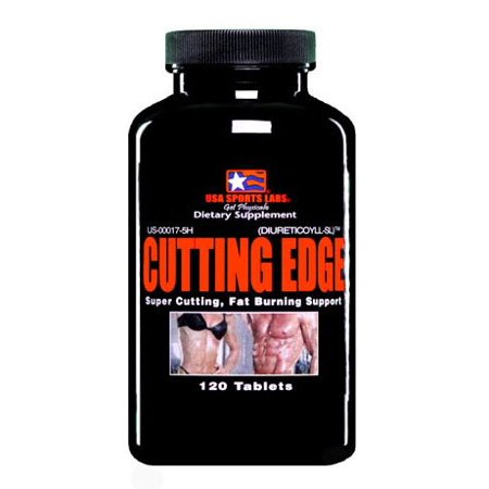 Cutting Edge Fat Burner 100% Natural Diuretic - Reduces Excess Water in the Body Weight Loss and Appetite Suppressant Benefits - 120 Count bottle - Made in