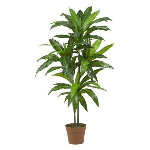 Exclusive By Nearly Natural 48 Inch Dracaena Silk Plant (...