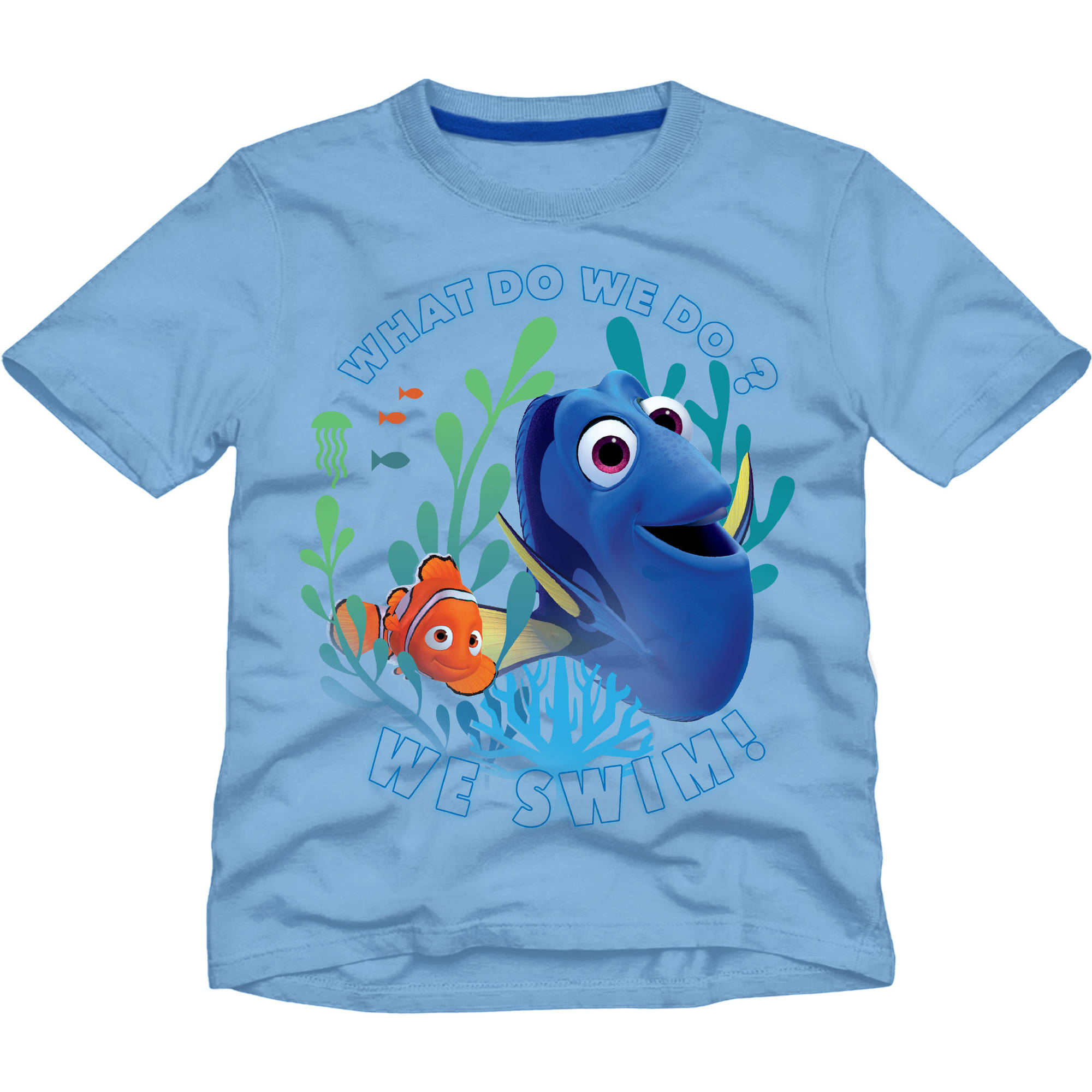 Finding Nemo Toddler Boy Short Sleeve Graphic Tee