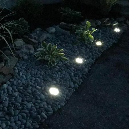 Tomshine Solar Power Energy Ground Lawn Lamp 4 Pack Sensitive Light Sensor IP65 Water Resistance SMD2835 for Patio Yard Garden Pathway Outdoor - image 5 de 7