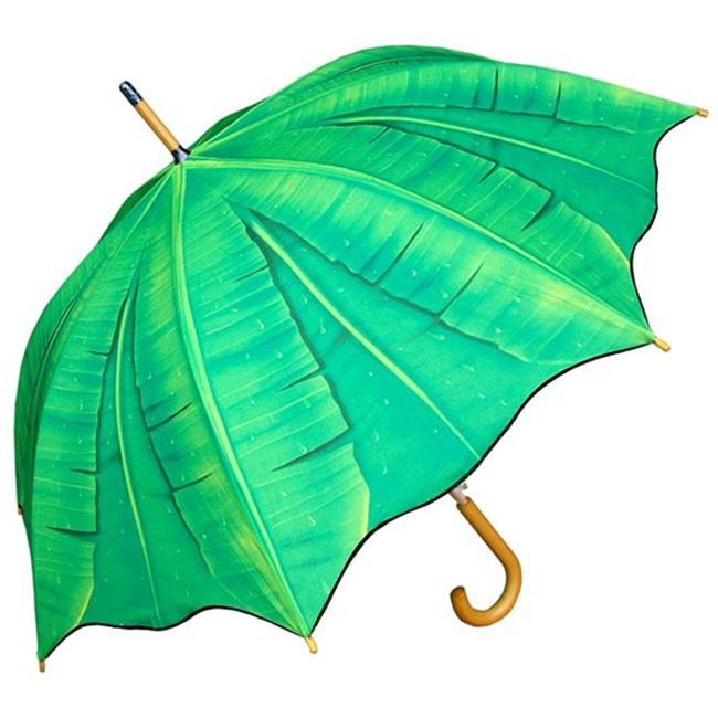 RainStoppers W3562PALM 46 in. Auto Open Palm Tree Print U...