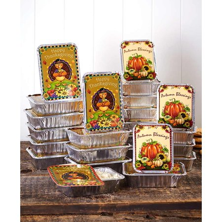 Halloween Food Like Body Parts (Aluminum Food Containers for Thanksgiving, Halloween, Autumn - Set of)
