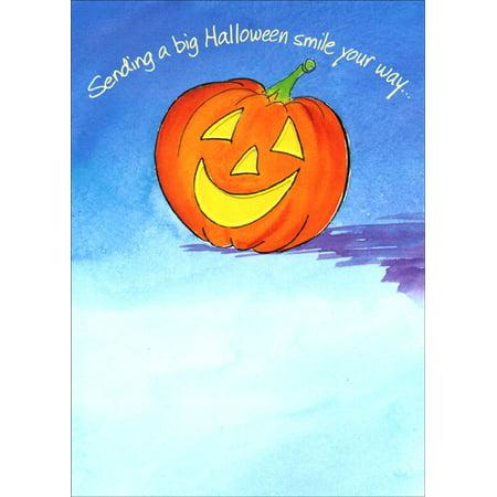 Recycled Paper Greetings Smile & Love Halloween - Halloween Greetings Card Verse
