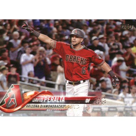 2018 Topps #319 David Peralta Arizona Diamondbacks Baseball Card