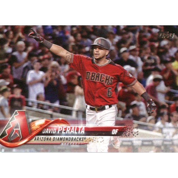Topps - 2018 Topps #319 David Peralta Arizona Diamondbacks Baseball Card -  Walmart.com - Walmart.com