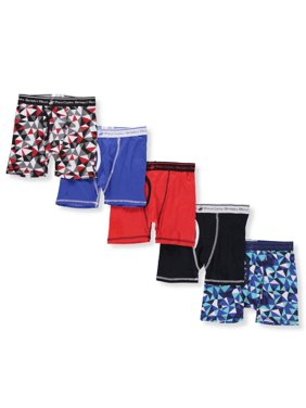Beverly Hills Polo Club Boys' 5-Pack Boxer Briefs (Big Boys)
