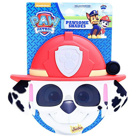 Paw Patrol Marshall Sun-Staches Shades (Stache Sunglasses)