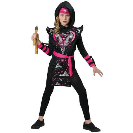 Ninja Girl Child Costume