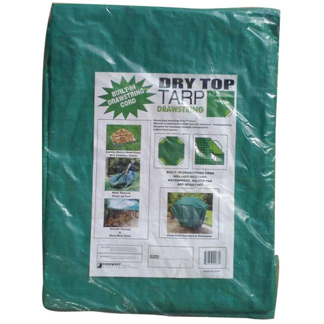 Foremost Tarp 9ft. X 9ft. Tarp With Drawstring  50099
