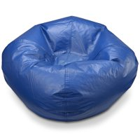 "X Rocker 96"" Round Vinyl Matte Bean Bag, Multiple Colors"