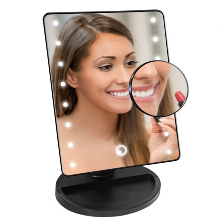 Top Quality LED Light Mirror 16 White Bulb LED Cosmetic Application (Best Light Bulbs For Makeup Application)