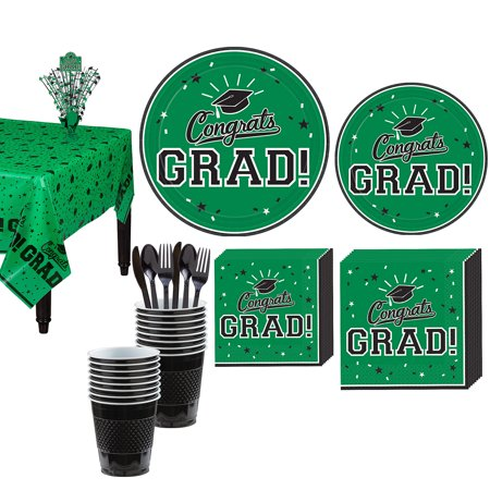 Party City Congrats Grad Graduation Tableware Kit for 18 Guests, Includes Plates, Napkins, and a Centerpiece](Party City Whittier)