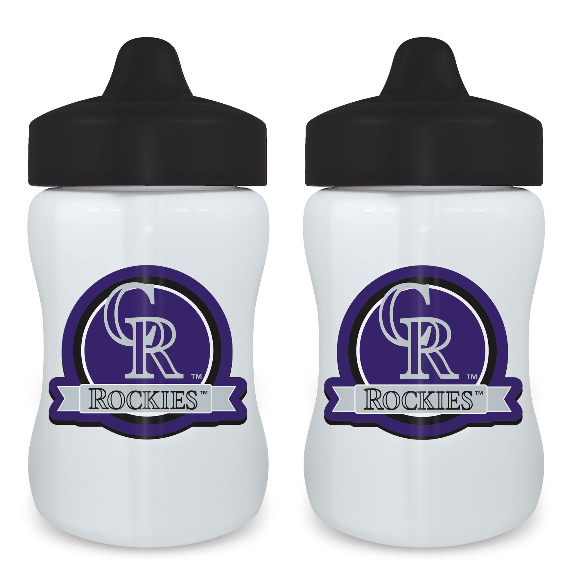 MLB Colorado Rockies 2-Pack Sippy Cups