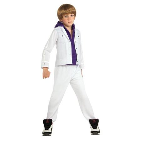 Justin Bieber Costume Child Small - Justin Bieber Fan Halloween Costumes