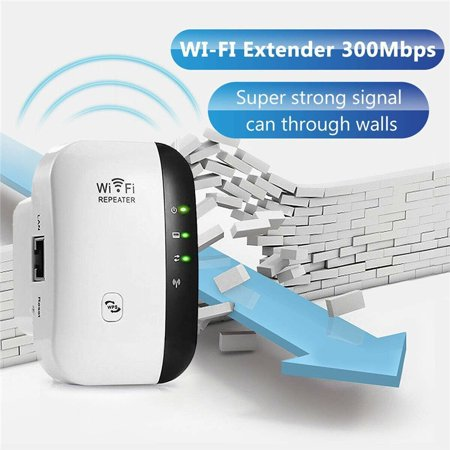 Wireless Wifi Repeater Long Range Extender Amplifier 2.4GHz Network Adapter Wireless-N Mini AP Access Point Dongle IEEE802.11N/G/B Mini AP Router Signal Booster(300M-New (Best Wireless Router For Office Network)