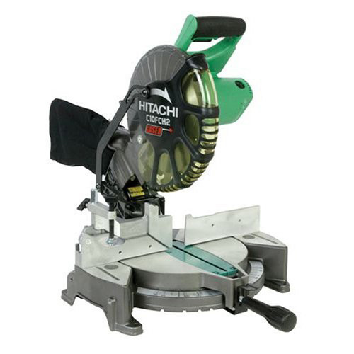 "Hitachi 15-amp 10"" Laser Compound Miter Saw by Hitachi Power Tools"