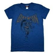 Batman Classic DC Comics Vintage Style Junk Food Soft Jrs Babydoll T-Shirt