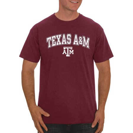 Texas A&m Aggies University (Russell NCAA Texas A&M Aggies Men's Classic Cotton T-Shirt)