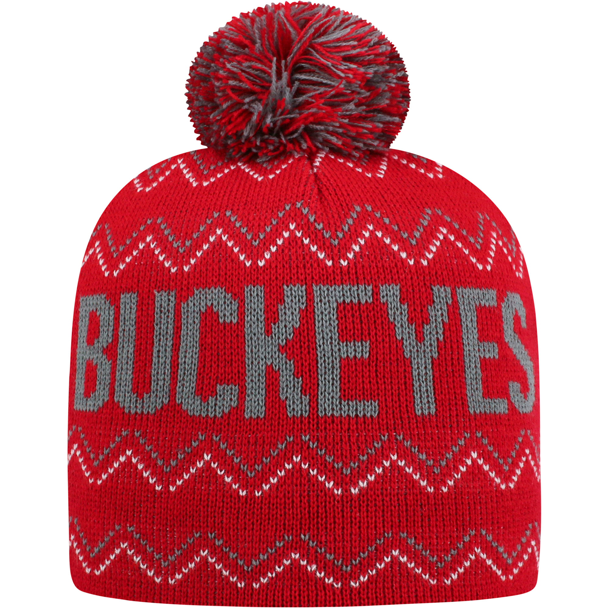 e0d4c3c2136 ... australia youth russell scarlet ohio state buckeyes rimy knit beanie  with pom osfa 96d7a 2b884