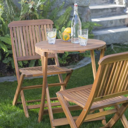 Folding Patio Bistro Set