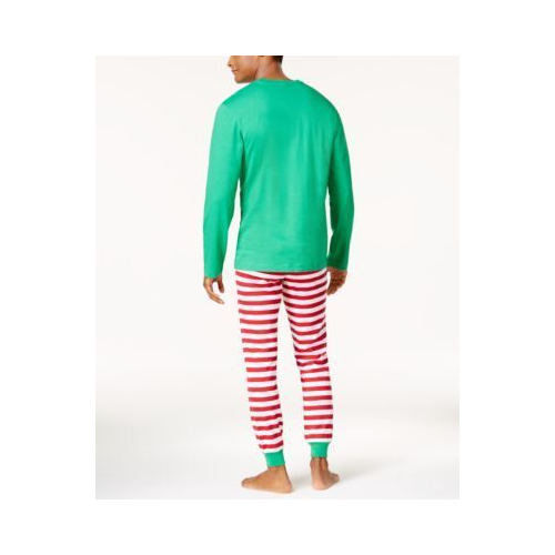 Family Pajamas Babys 1-Pc Elfing Around Footed Pajamas