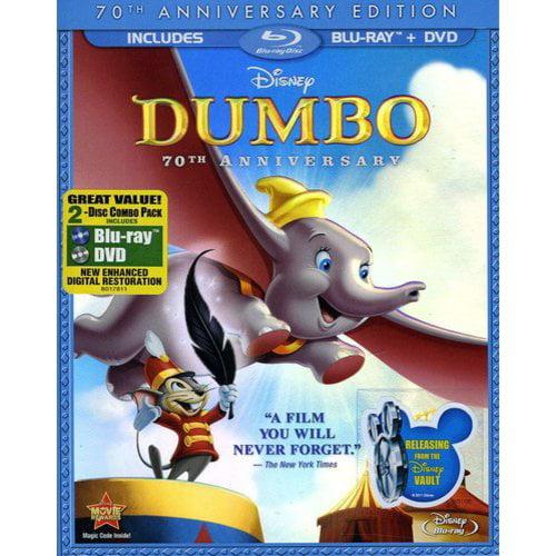 Dumbo (70th Anniversary Edition) (Blu-ray + DVD))