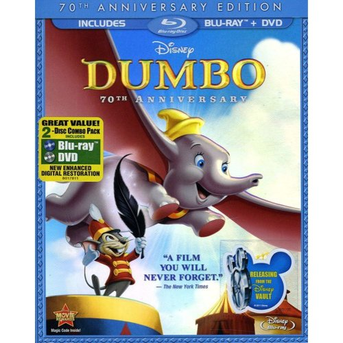 Dumbo (70th Anniversary Edition) (Blu-ray   DVD))