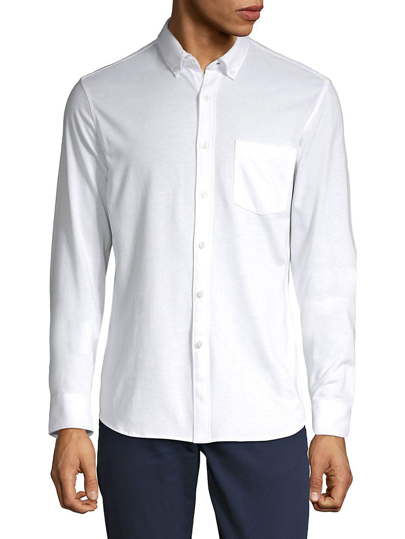 Slim-Fit Knit Shirt